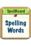 For spelling practice. Can customize word lists. Quizzes use your voice recordings for the word and optional phrase. Virtual whiteboard allows for writing practice. Fun word games using the words you choose.