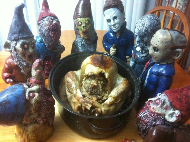 Gnombies Garden: 17 Best Images About Zombie Gnomes On Pinterest