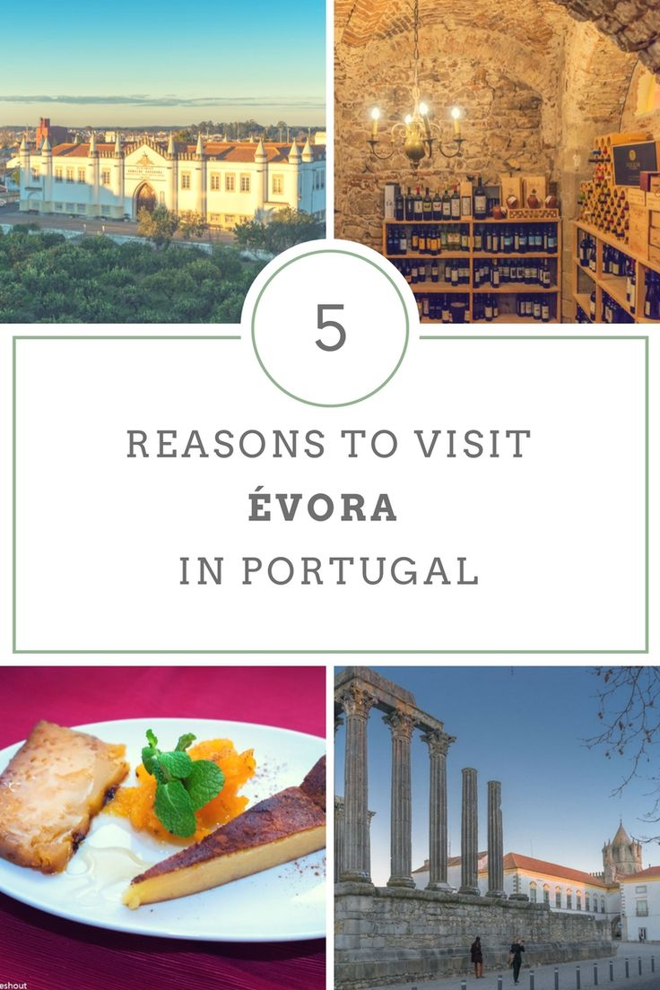 Évora in the south of Portugal is home to UNESCO World Heritage sites and some of the best food and wine the country has to offer. Even if you don't plan to extensively explore the region (although you should!) the city merits a visit by itself.