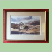 Signed Watercolour by Donald Crossley £120