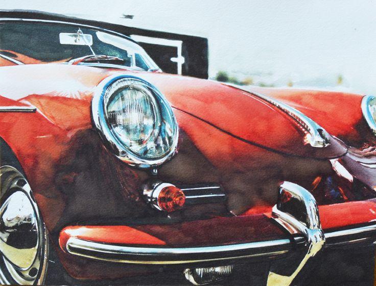 En Porsche 356