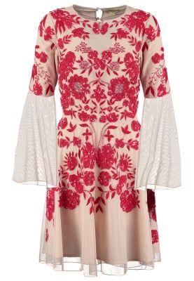 ZELLA - Sukienka koktajlowa - nude/red