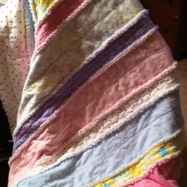 Harper's rag quilt