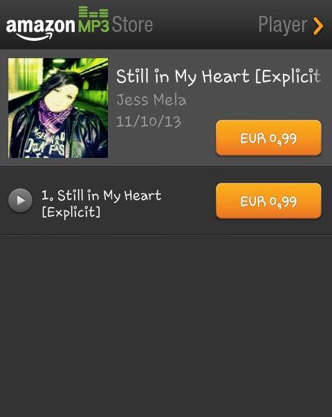 "Now also Buy Amazon my single ""Still In My Heart "" ;)"
