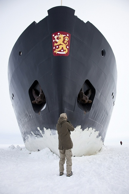 Ice breaker in Finland http://www.flickr.com/photos/visitfinland/5187077450/in/photostream/