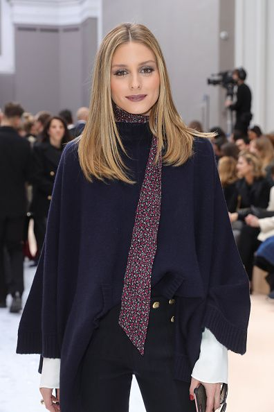 Olivia Palermo attends the Chloe show as part of the Paris Fashion Week Womenswear Fall/Winter 2017/2018 on March 2 2017 in Paris France