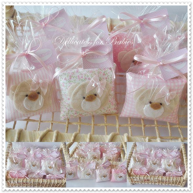 Sachês ursinha...composê em rosa.   Flickr - Photo Sharing!