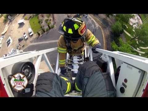 Boise Fire Academy Ladder Training - YouTube