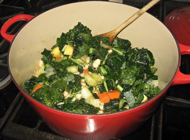 ... Kale and Cannellini Bean Soup (Zuppa di Cavolo Nero e Cannellini