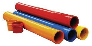 Make your own boomwhackers.