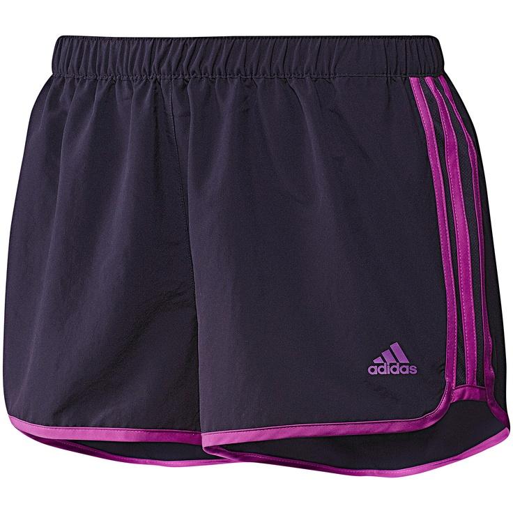 Marathon 10 Short Mujer, Darkviole / Vivid Pink