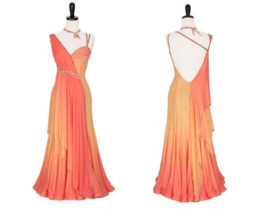 Honeysuckle   Smooth & Standard Dresses   Encore Ballroom Couture