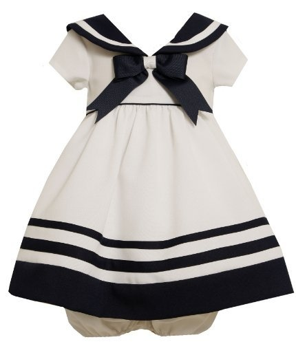 Bonnie Baby-Girls Infant Nautical Dress With Navy Trim, White, 12 Months Bonnie Baby,http://www.amazon.com/dp/B005NV4YBC/ref=cm_sw_r_pi_dp_daJ9qb1A95R6PR6X