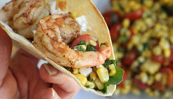 Tex-Mex Grilled Sweet Corn & Tomato Salad | Recipe