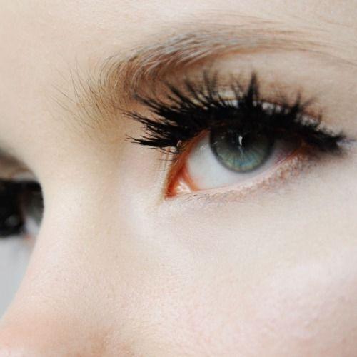 Eyelash goals.