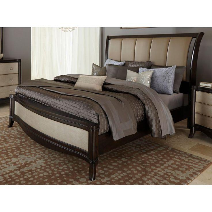 Sunset Boulevard Queen Sleigh Bed