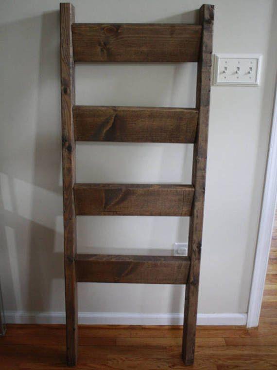 Rustic Blanket Ladder Rustic Wood Quilt Ladder Wood Ladder