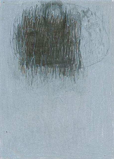 peter koppanyi - pencil + chalk on paper - cn / wt