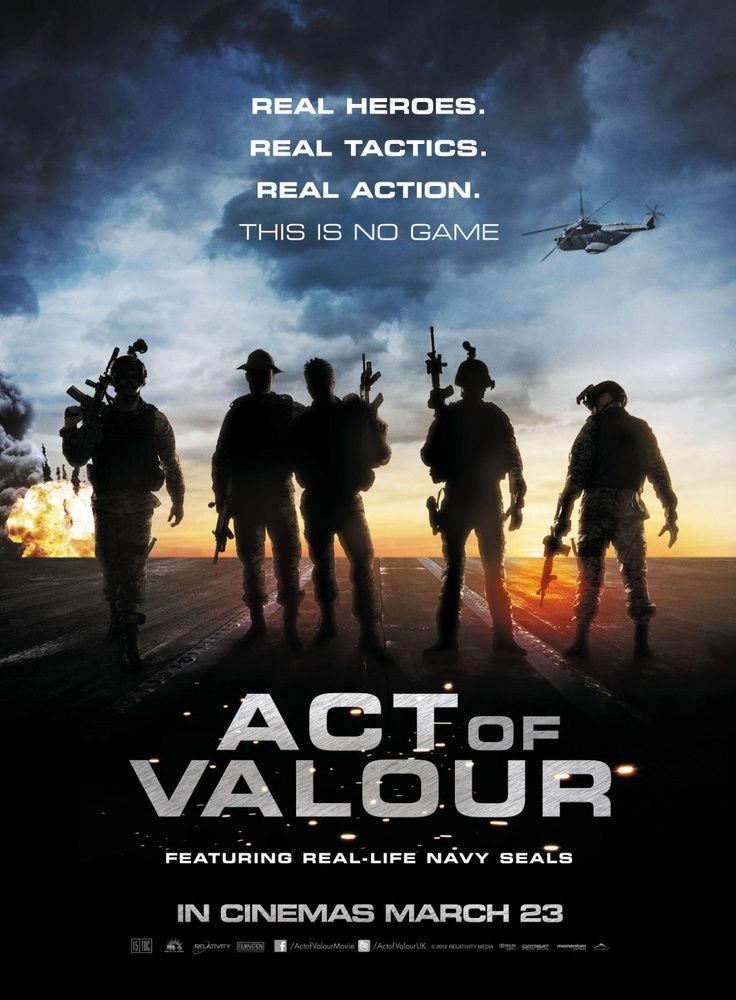 Act of Valour movie review: proper action or propaganda?    http://bit.ly/ITX7rk: Great Movie, Full Movie, Movies, Act Of Valor, United States Navy, Navy Seals, Favorite Movie, Acting Of Valor, Valor 2012