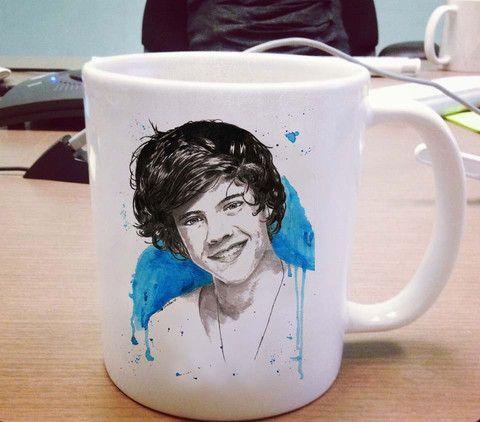 Harry Styles one direction Ceramic Mug #mug #ceramicmug #ceramic #coffemug #teamug #cup #funnymug