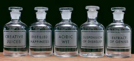 etched apothecary bottles