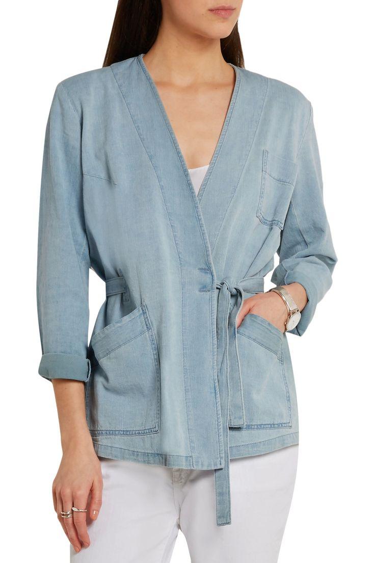 Maison Margiela Wrap denim jacket