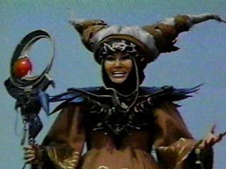 Rita Repulsa the main villain of Mighty Morphin Power Rangers season 1.
