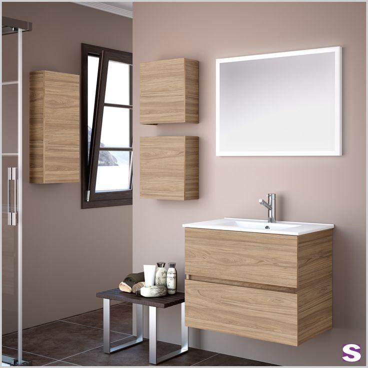 Inspirational Durch die elegante und nat rliche Art macht Magnif Ihr Bad zu einem beliebten Ort Mit der Zusatzausstattungen wie H ngeschrank und LED Spiegel k nnen Sie