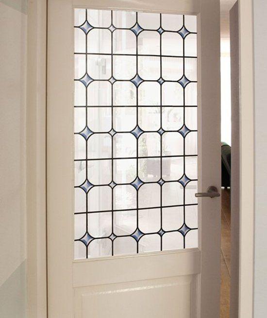Raamfolie / Glasfolie, zelfklevend, Glas in lood 2290, 45x200cm