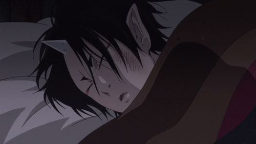 sleeping hoozuki =u=