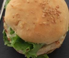 Recette Hamburgers poulet avocat pour l'apéritif par oupslala25 - recette de la catégorie Entrées