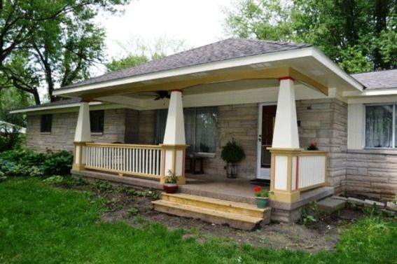 1000 images about covered porch ideas on pinterest red for Small home addition ideas