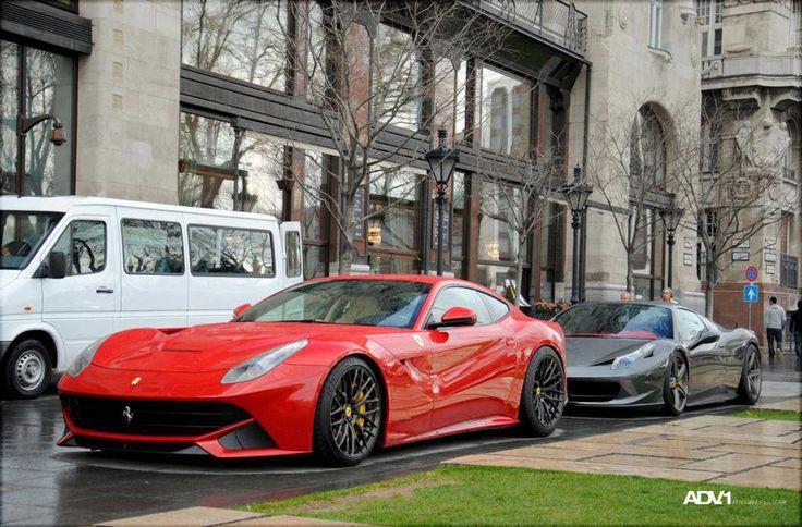 Ferrari F12 Berlinetta & 458 Italia ♥