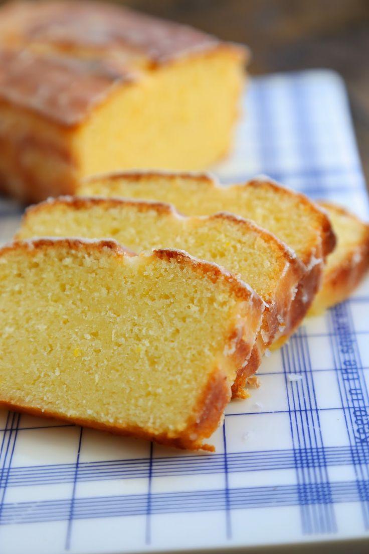 Cake ultime au citron de la cuisine de Bernard , Fantastic lemon cake   On dine chez Nanou