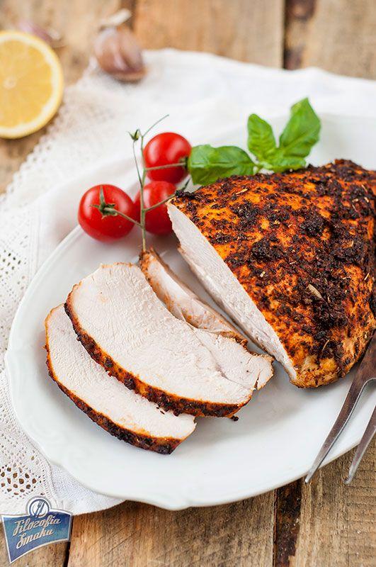 Herb-Roasted Turkey Breast / Pieczona pierś z indyka z ziołami