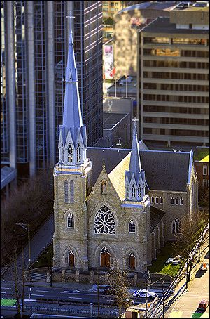 Holy Rosary Cathedral - 646 Richards Street Vancouver BC