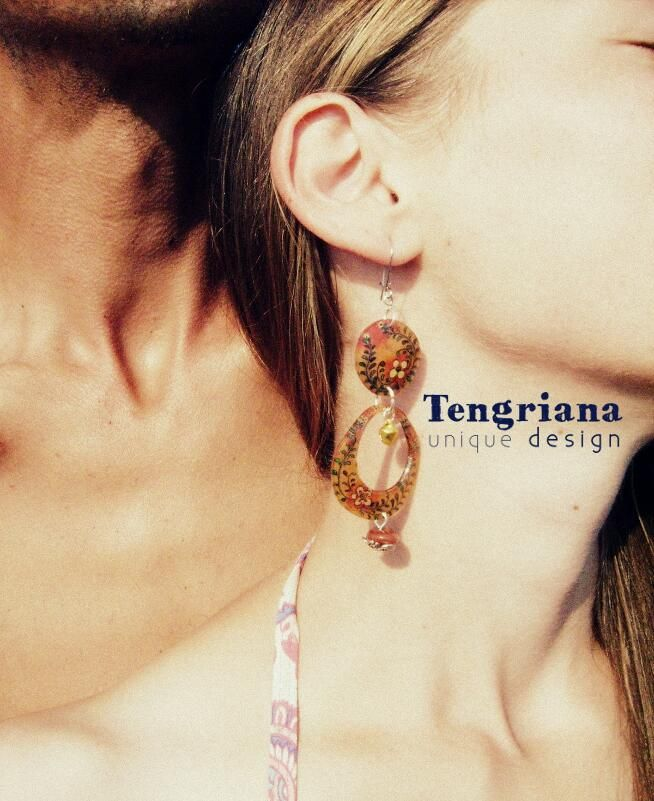 Hot Flower power Maribor has been sold yesterday. Somebody must be very sexy with her new @tengriana unique earrings!