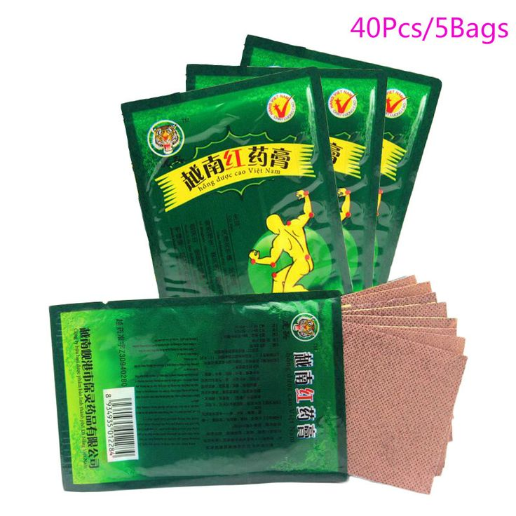 40 Piece/5 Bags Health Care Product Vietnam Red Tiger Balm Plaster Muscular Pain Stiff Shoulders Pain Relieving Patch Relief♦️ B E S T Online Marketplace - SaleVenue ♦️👉🏿 http://www.salevenue.co.uk/products/40-piece5-bags-health-care-product-vietnam-red-tiger-balm-plaster-muscular-pain-stiff-shoulders-pain-relieving-patch-relief/ US $3.62