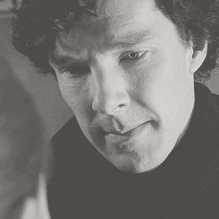 "SHERLOCK (BBC) ~ Sherlock kissing Molly on the cheek, Season 3, Episode 1: ""The Empty Hearse."" [Video/GIF]"