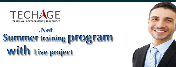 Live Project .net Training Program in Noida With TechAge Academy.Industrial .Net Training,.Net Summer Internship Program call for more details:+91-9212063532,+91-9212043532 Visit:http://www.techageacademy.com/courses/dot-net-training/