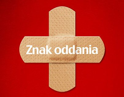 """Check out new work on my @Behance portfolio: """"Znak oddania - kampania społeczna """" http://on.be.net/1IoesEY"""