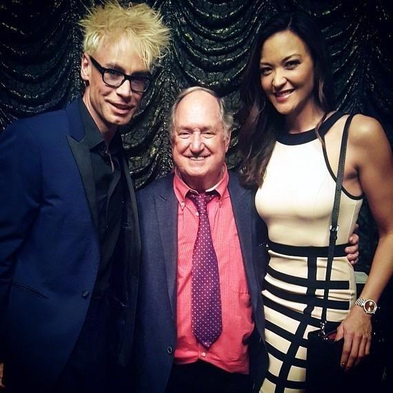 Murray SawChuck with Neil Sedaka and Jenni Lee Kearns