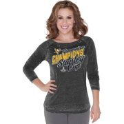 Touch by Alyssa Milano NHL Stanley Cup Champions Pittsburgh Penguins Raglan Long Sleeve Shirt #teamtouch