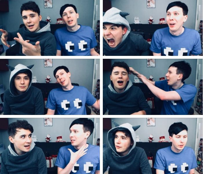 PHOTO SET: A Festive Female-Exit! Dan and Phil play: Fireboy and Watergirl 3!