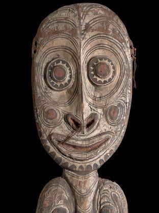 Masque  de Papouasie-Nouvelle-Guinée.