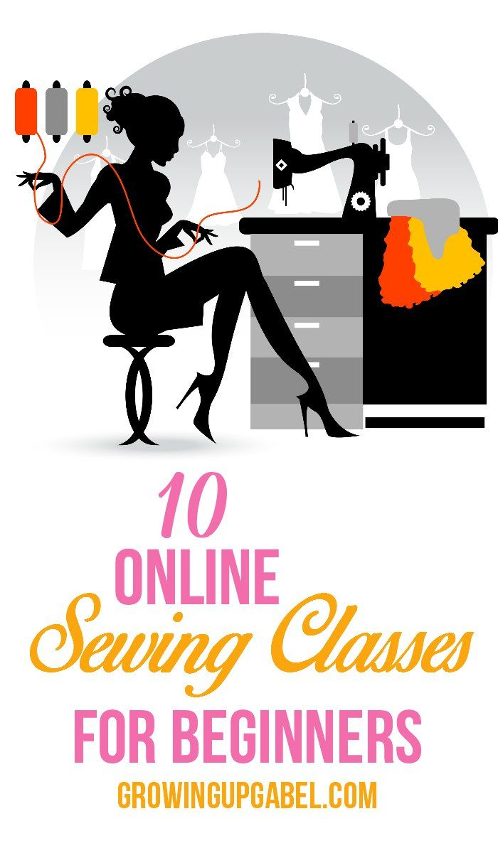 Learning To Sew:  Sewing Classes Online for Beginners from free to paid classes learn how to sew!