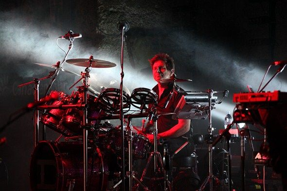 Roger Taylor in Mountain-Winery-Saratoga, California, 09.08.2012. All You Need Is Now Era, 2012.