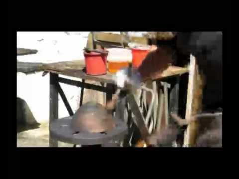 Amagugu.com presents: Bronze Age Art Part 2. See how they create their stunning bronze pieces. Charles Haupt guides us through the Patina process he uses on the bronze bowl. They also show how the Gold-leafing process works