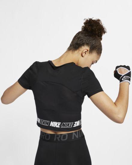 a4881e1a7c99cb Nike Women s Short-Sleeve Crop Top Pro in 2019