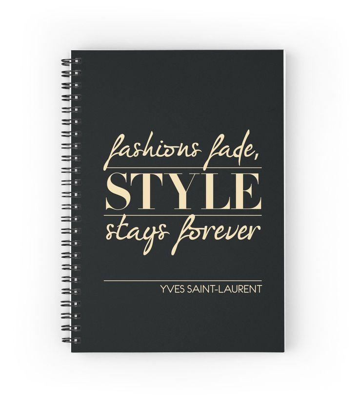 Yves Saint-Laurent fashion Quote by Didi Kasa